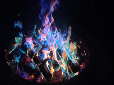 Color Changing Fire Logs